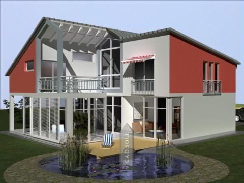 Cad eins moderne architektenh user - Moderne architektenhauser ...